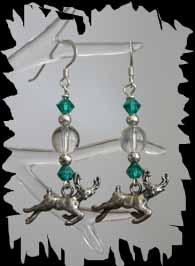 original design chandelier earrings by Judy Strobel